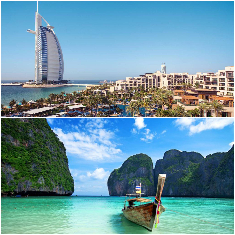 DUBAI & THAILAND TWIN CENTRE
