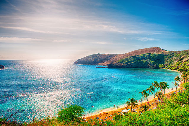 Waikiki Beach & Aloha Hawaiian Islands