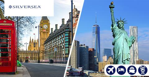 LONDON, GREENWICH TO NEW YORK