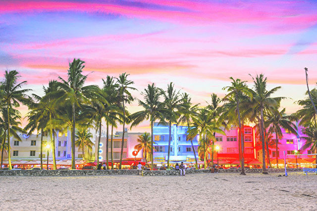 Chic South Beach & Western Caribbean