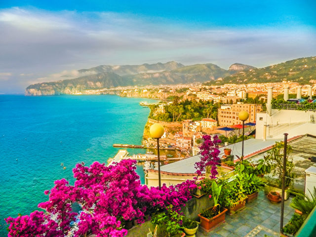 Charms of Sorrento & Classic Mediterranean