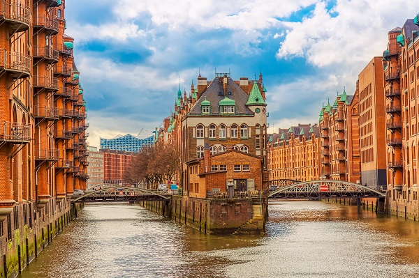 Hamburg, Amsterdam and Bruges