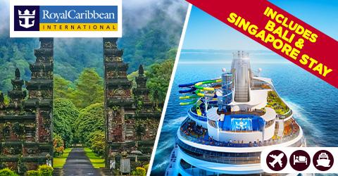 BALI, SINGAPORE TO SYDNEY