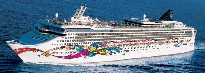 Norwegian Cruise Line Jewel Ship
