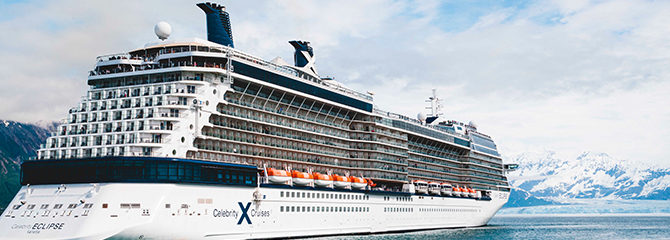 Celebrity Cruises with the Ecplise