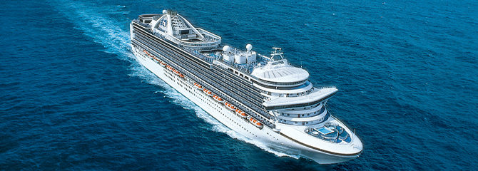 Princess Cruise Line Emerald Princess Ship