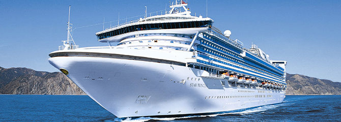 Princess Cruise Line Star Princess Ship