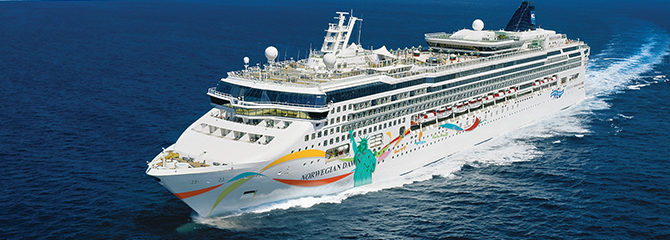 Norwegian Cruise Line Dawn Ship