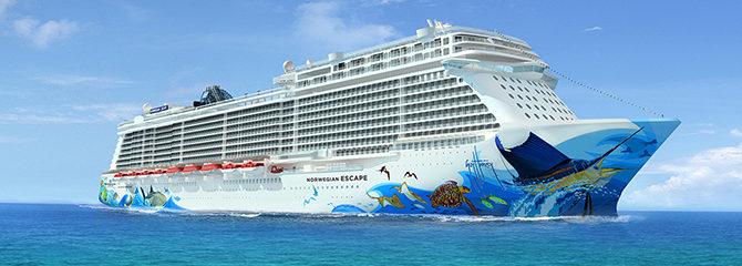 Norwegian Cruise Line Escape Ship