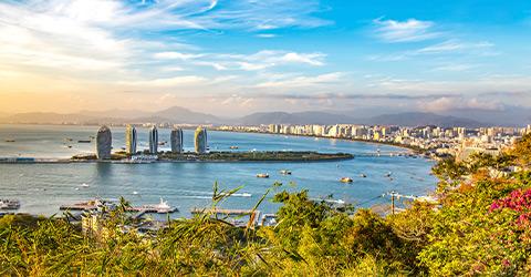 HAINAN ISLAND TO SHANGHAI