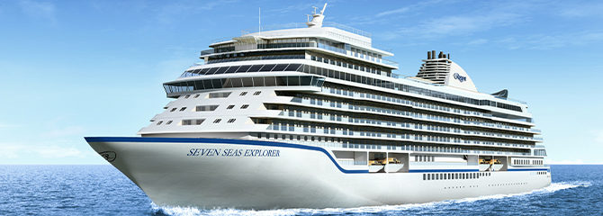 Regent Cruises with the Seven Seas Explorer