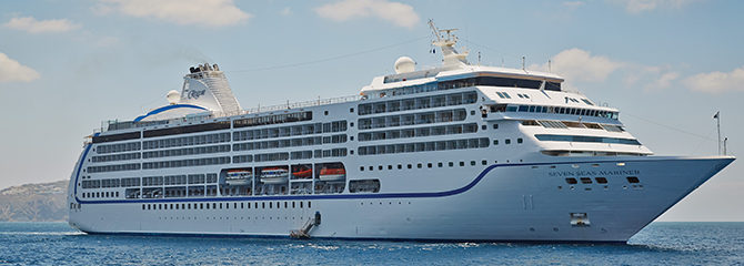 Regent Cruises with the Seven Seas Mariner