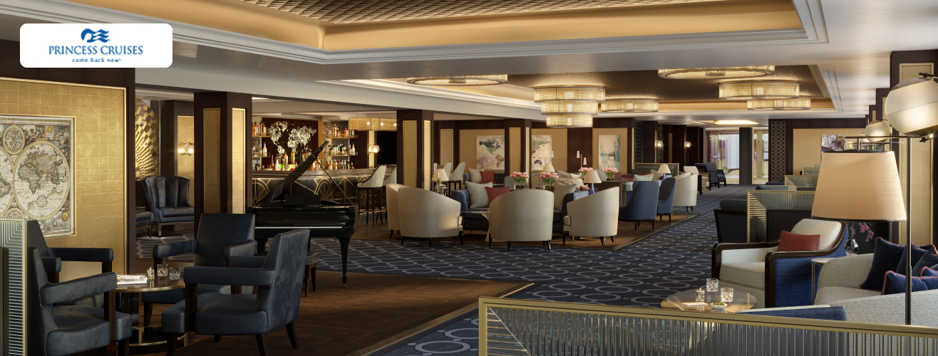 Crown Grill Bar in Sky Princess cruise ship