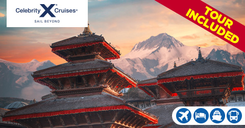 SINGAPORE TO DUBAI CRUISE WITH HIGHLIGHTS OF NEPAL TOUR