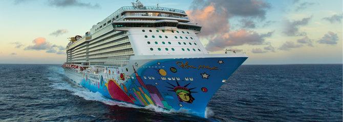 Norwegian Cruise Line Breakaway ship