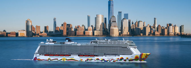 Norwegian Cruise Line Encore ship
