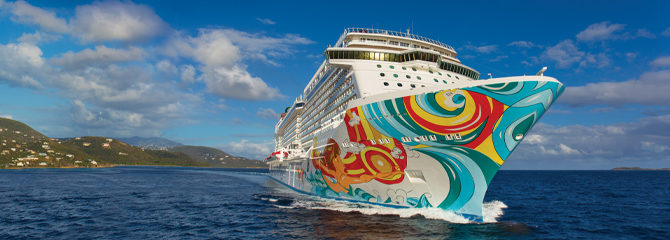 Norwegian Cruise Line Getaway Ship