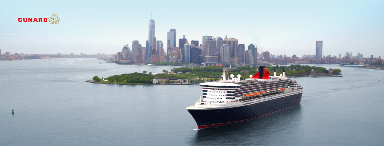 Cunard Queen Mary 2 in New York City