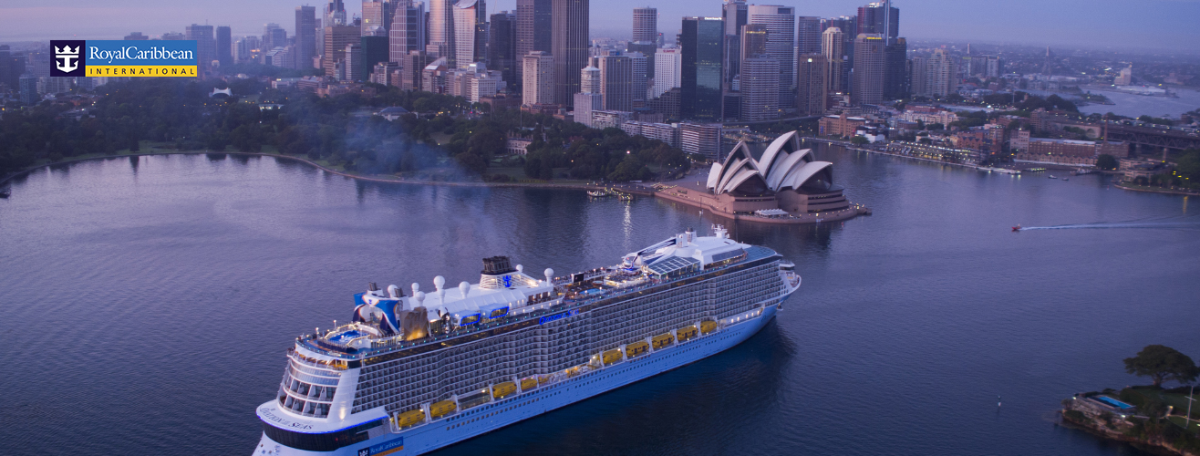 Royal Caribbean Ovation of the Seas in Sydney