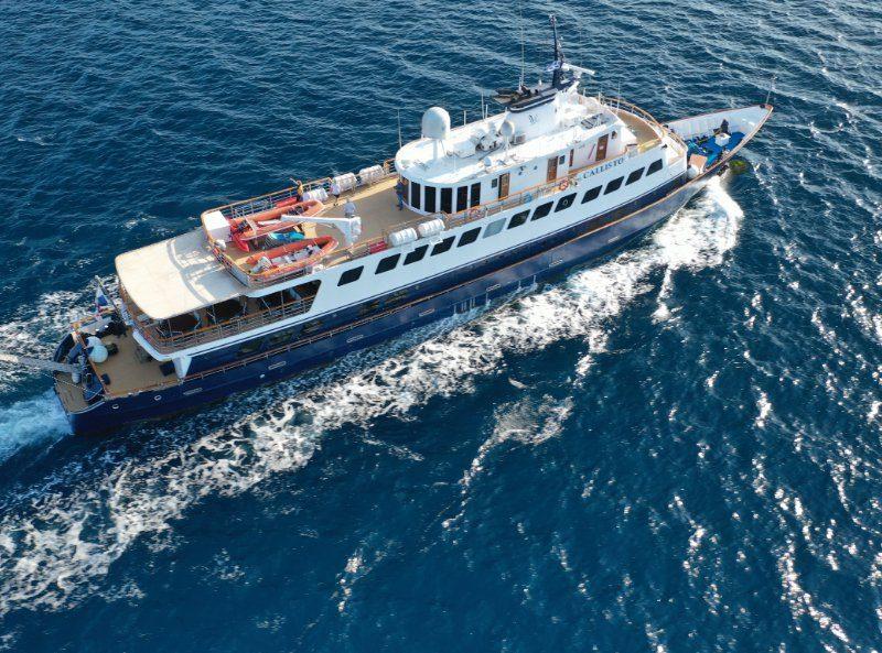 M/Y Callisto Cruise