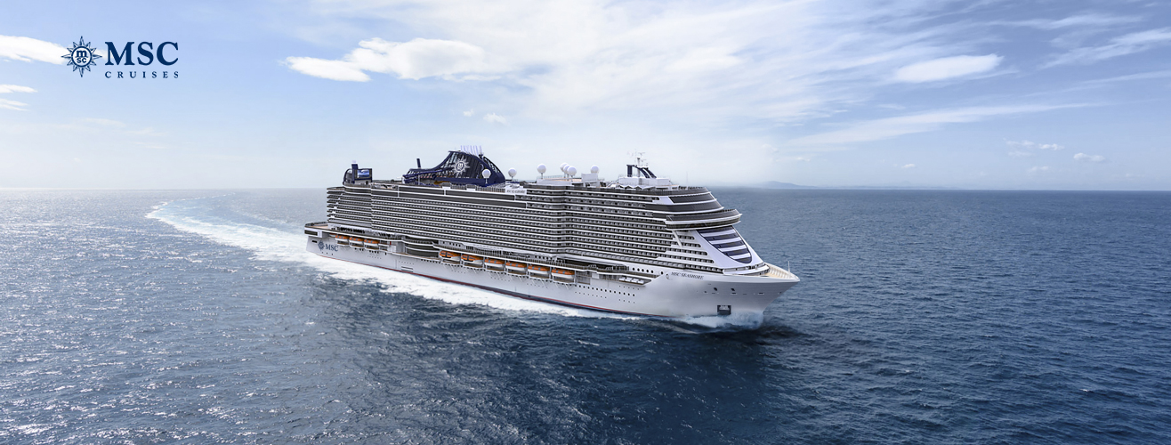 MSC Seashore cruise ship
