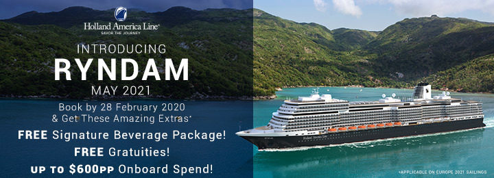 Holland America Cruise Line Ryndam