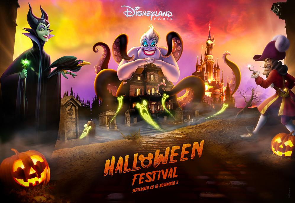 Magical Halloween Celebrations at Disneyland® Paris