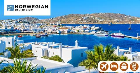ALL-INCLUSIVE GREEK ISLES, THE MED & BALTICS