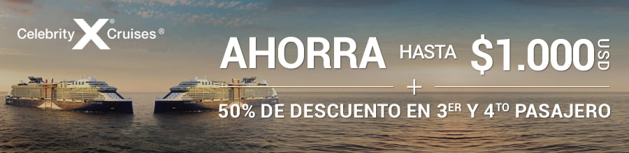 Promoción Celebrity Cruises