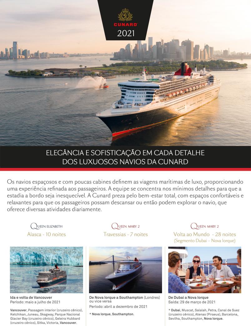 Lâmina Cunard Line