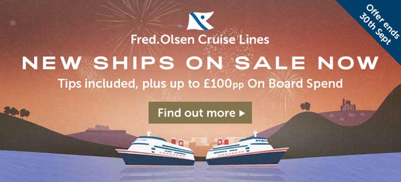 Fred Olsen New Ships On Sale
