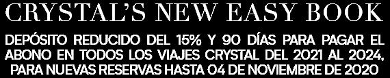 Promoción Crystal Cruises