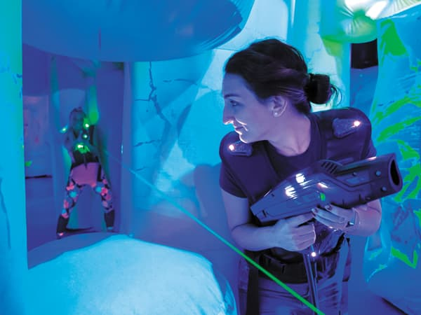 Laser Tag: Clash for the Crystal City