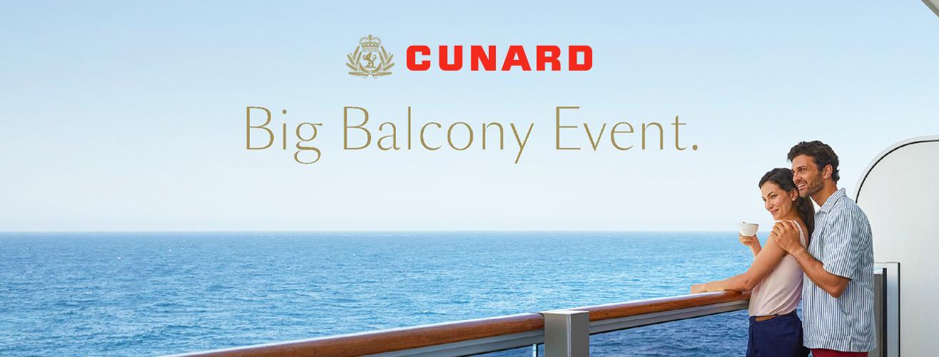 Cunard's Big Balcony Event