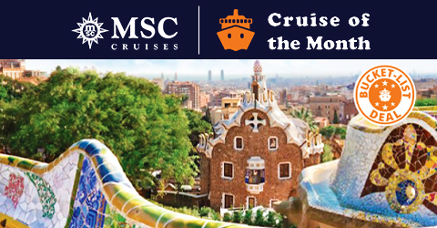 CRUISE OF THE MONTH!